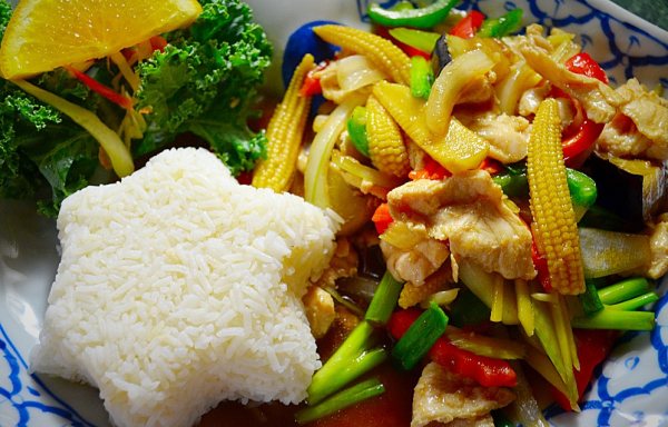 Pad Ginger with Pork